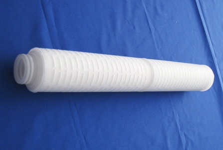 Pleated type water filter