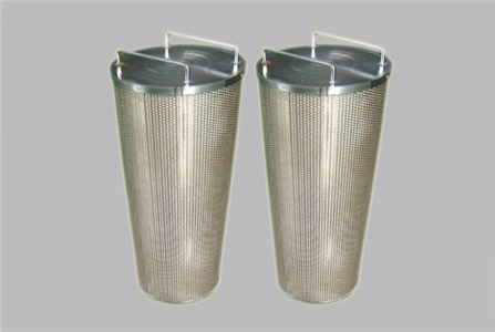 Basket Oil Filter Element